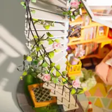 DG12, Dora's Loft DIY Miniature Dollhouse Kit