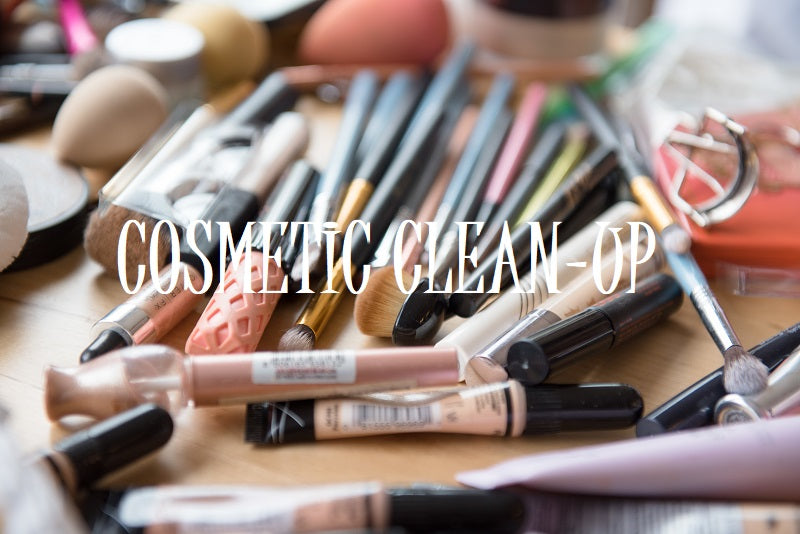 Clean up Your Cosmetics!