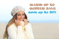"""WARM UP TO WINTER"" SALE"