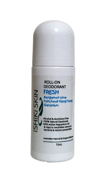 Natural Roll on Deodorant |  Fresh