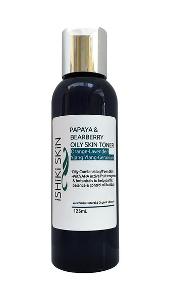 Papaya & Bearberry Oily Skin Toner