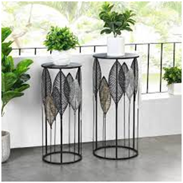 Shimmery Botanical Plant Stands