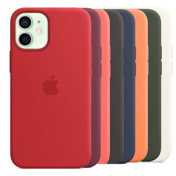iPhone 12 mini Silicone Case with MagSafe - All Colors