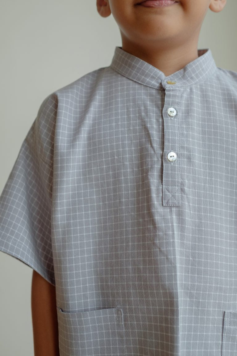 TOHA IN CHECKERED GREY