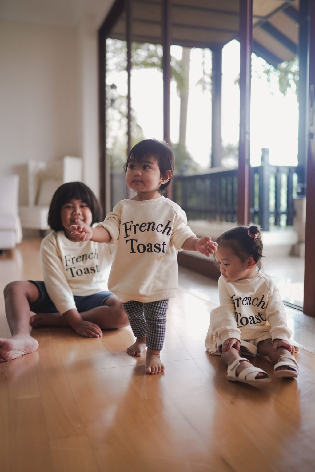 FRENCH TOAST JUMPER (KIDS)