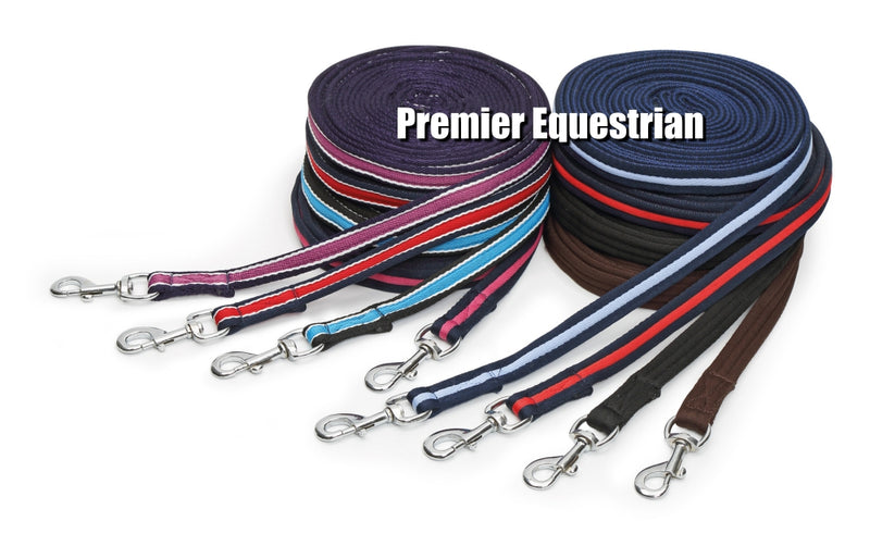 Shires Cushion Web Lunge Line