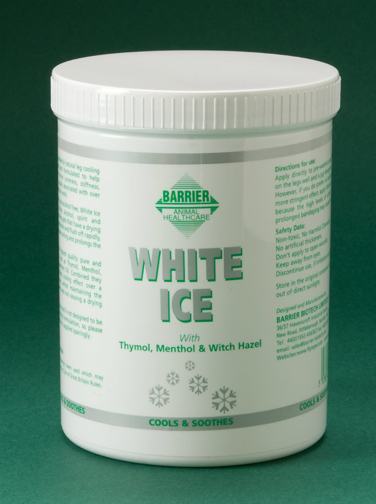 Barrier White Ice