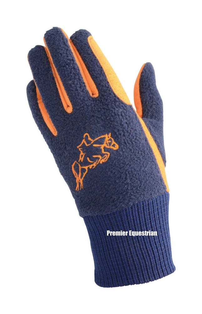 Hy5 Children's Winter Two Tone Riding Gloves