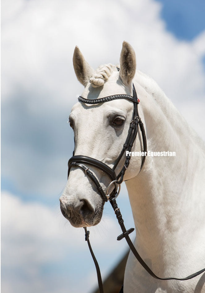 Kieffer Ultrasoft Fashion Snaffle Bridle