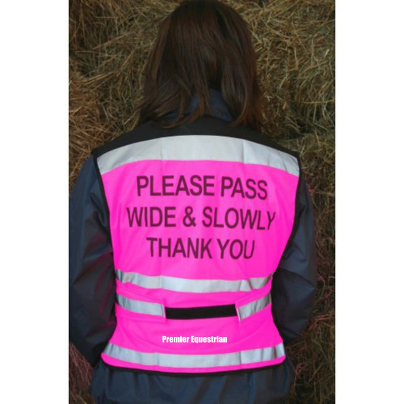 Equisafety Air Waistcoat - Please Pass Wide & Slowly