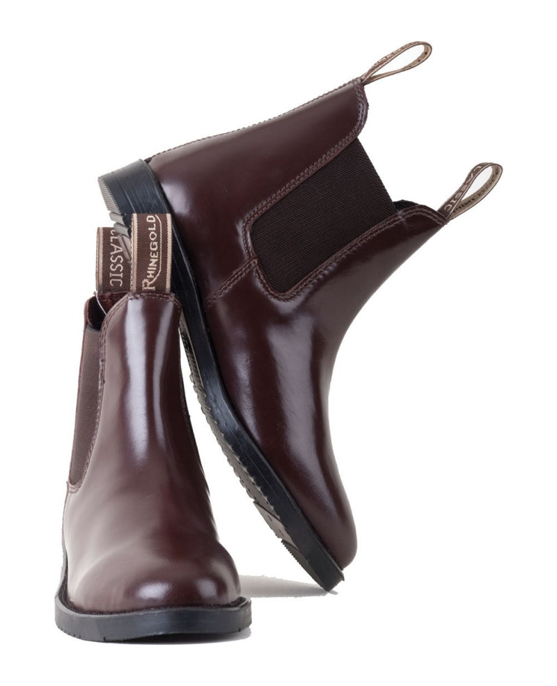 Classic Leather Jodhpur Boots - Adult
