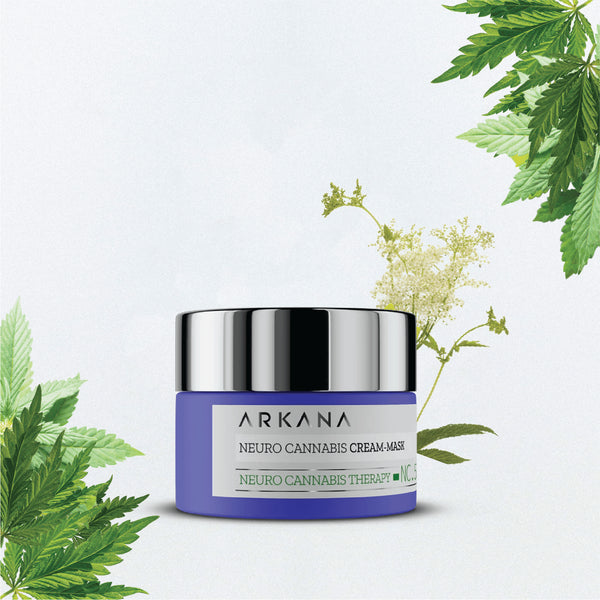 Intensively nourishing mask with a high content of hemp and poppy seed oils, designed for the night regeneration of irritated and dry skin. Capacity: 50 ml