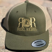 Load image into Gallery viewer, Reel Rebel Retro Trucker 2 Tone