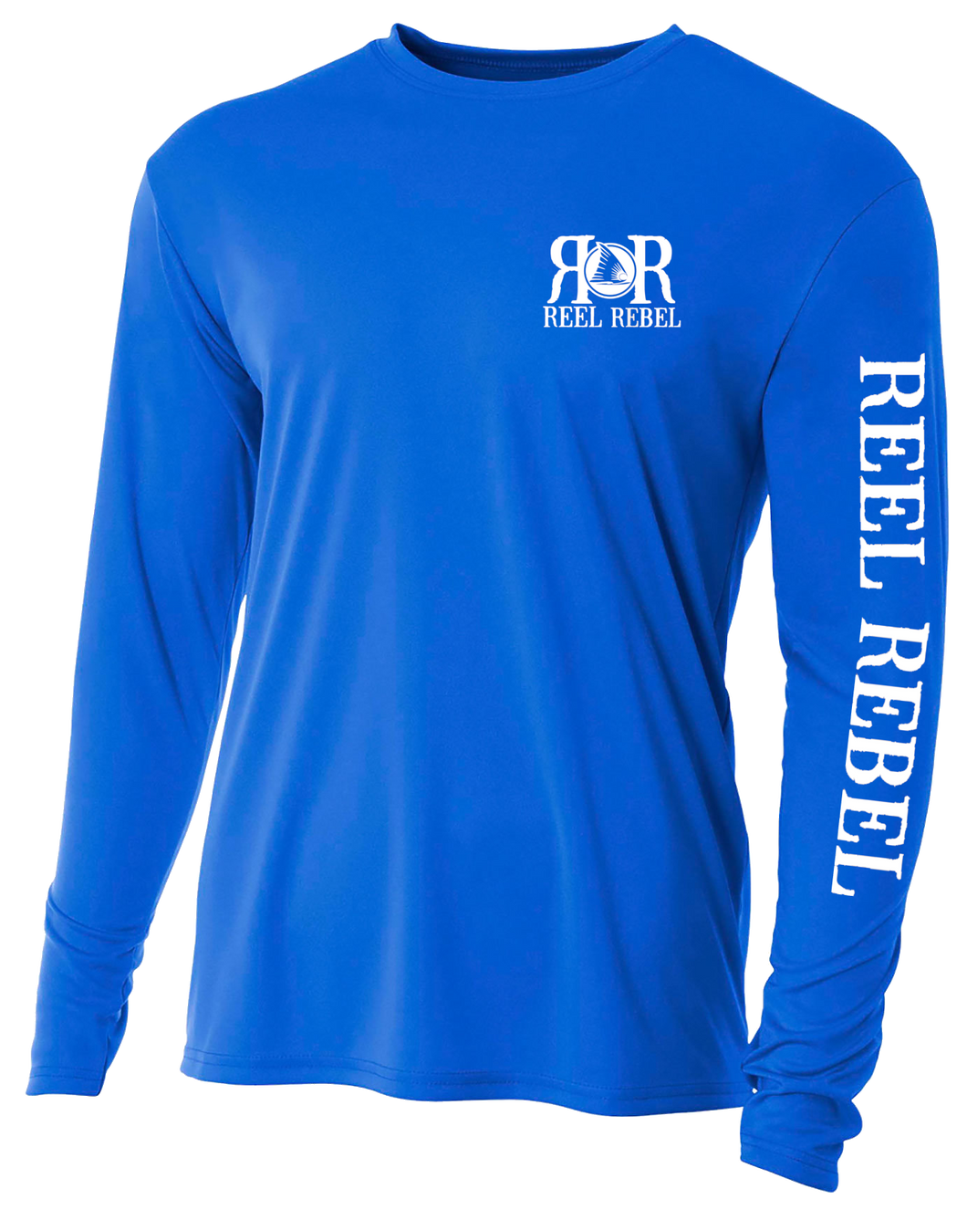 Reel Rebel UPF Performance Shirt with Nautical Compass
