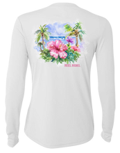 "Load image into Gallery viewer, Ladies ""Tropical Paradise"" UPF Performance Shirt"
