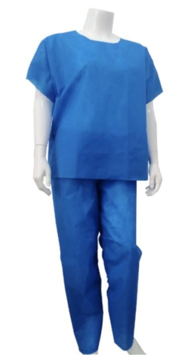 Tenue chirurgical col rond