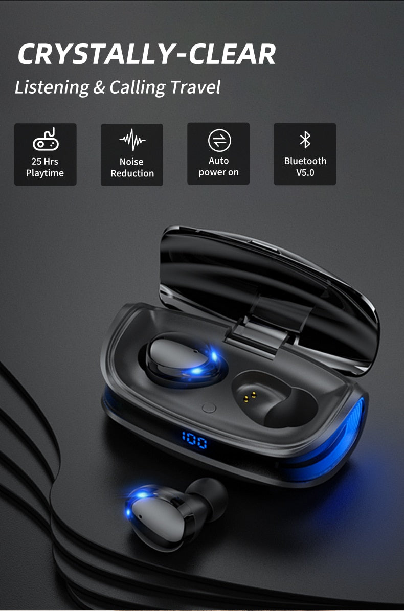 Push Plank Pull™️ Sports Waterproof Earbuds Headsets