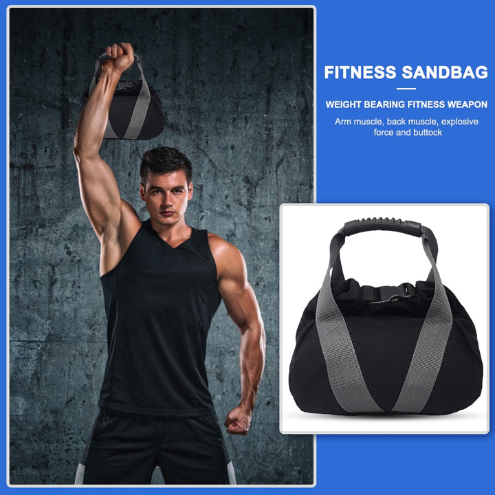 Heavy Duty Empty Gym Weight Sand Bag Fitness Weightlifting Sandbag Boxing Training Bodybuilding Exercise Workout Bag