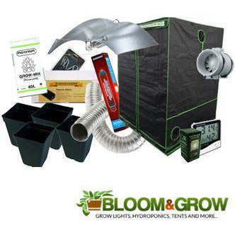 240X240X200 BLOOM & GROW BOX KIT WITH LARGE MEDIUM ADJUST A WINGS