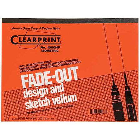 Design and Sketch grid 10 x 10 vellum