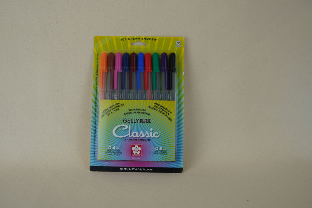 Sakura Gelly Roll Classic Pens Sets