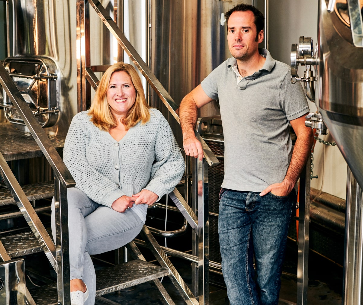 Gemma and Russ, Founders