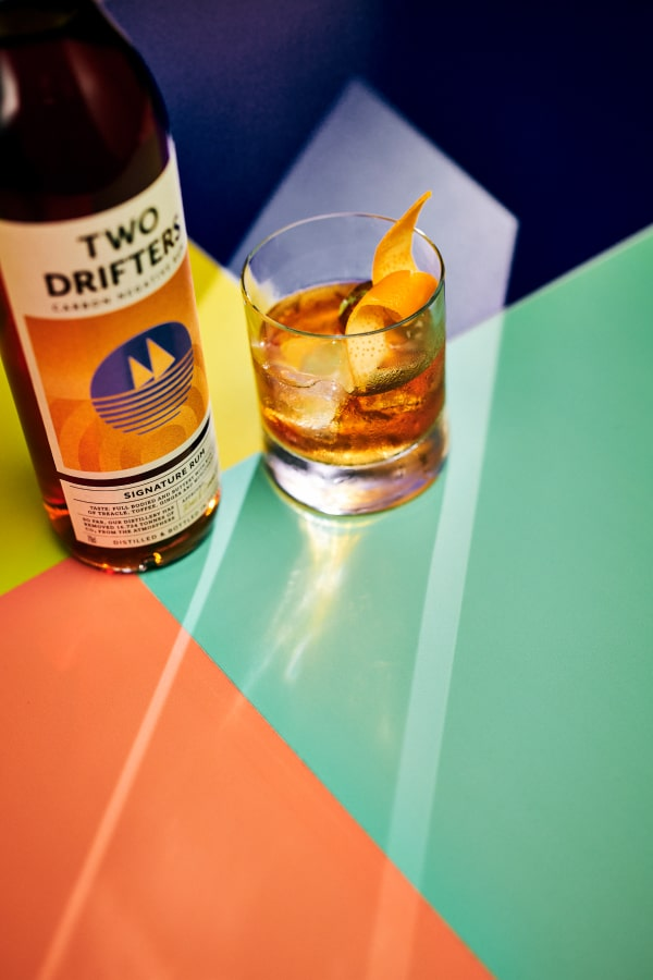 Signature on the rocks | Two Drifters
