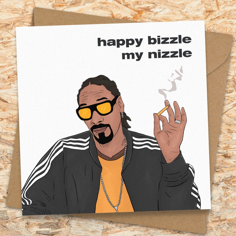 Snoop Birthday Card