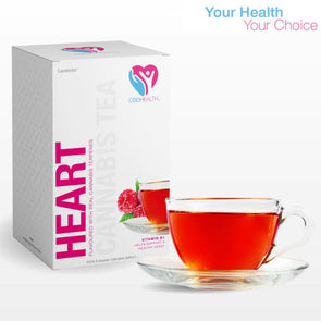 CBD Health Heart Raspberry Green Tea