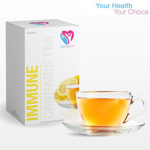 CBD Health Immune Lemon Green Tea