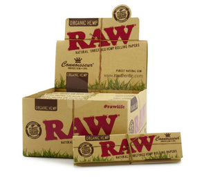 RAW Organic Hemp Connoisseur