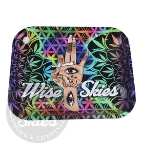 Wise Skies Trippy Hand Rolling Tray