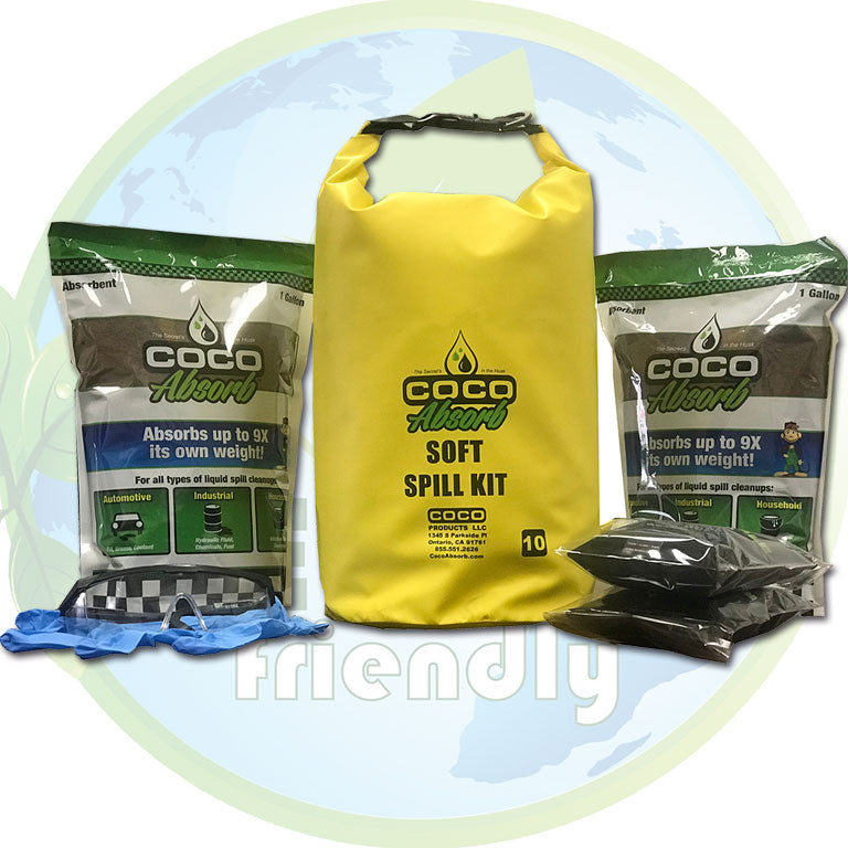 CocoAbsorb™ 10 Liter Soft Spill Kit