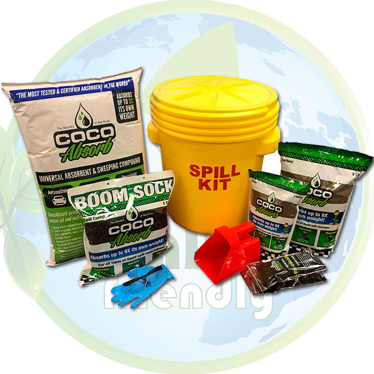 CocoAbsorb™ 30-Gallon Spill Kit