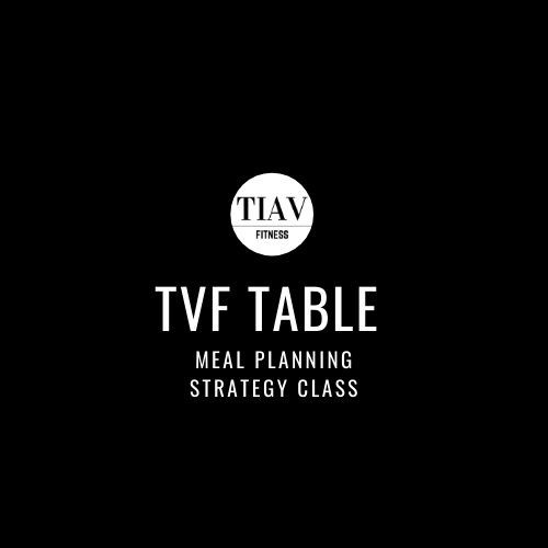 TVF Table Meal Planning Strategy Class LIVE
