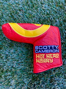 Scotty Cameron TOUR ONLY Hot Head Harry RED YELLOW Circle T Industrial CT FTUO