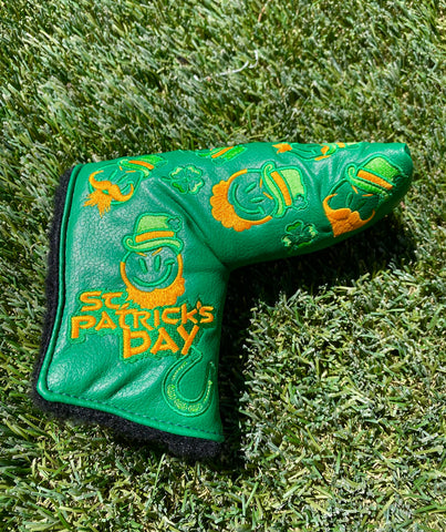 Scotty Cameron St. Patrick's Day head cover!
