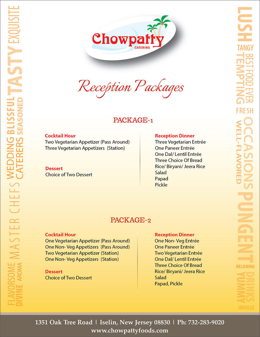 Reception Package