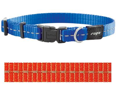 Rogz For Dogs Nitelife Halsband Oranje 11 MMX20-32 CM - Stuff4Pets || Dutchdales
