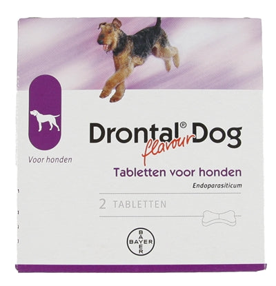 Bayer Drontal Tasty Ontworming Hond - Stuff4Pets || Dutchdales