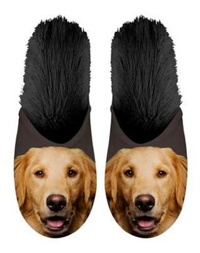Plenty Gifts Pantoffel Golden Retriever - Stuff4Pets || Dutchdales