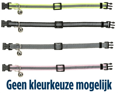 Trixie Junior Halsband Kat Kitten Reflecterend Assorti - Stuff4Pets || Dutchdales