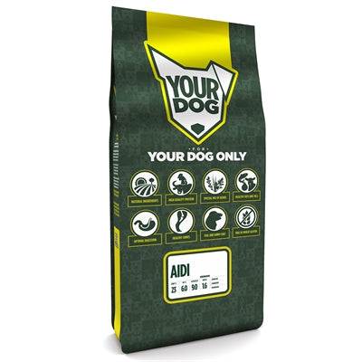 Yourdog Aidi Senior 12 KG - Stuff4Pets || Dutchdales