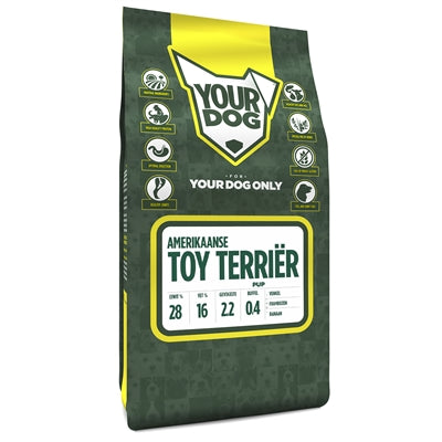 Yourdog Amerikaanse Toy Terriër Pup - Stuff4Pets || Dutchdales
