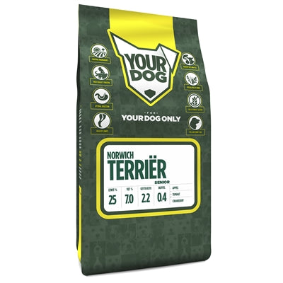 Yourdog Norwich Terriër Senior - Stuff4Pets || Dutchdales