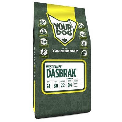 Yourdog West Faalse Dasbrak Senior - Stuff4Pets || Dutchdales