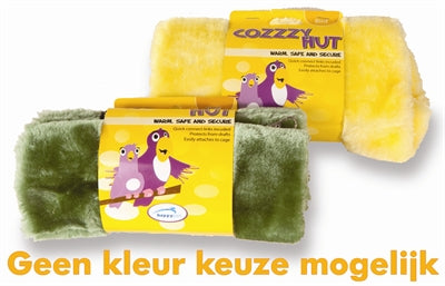 Happy Pet Vogelspeelgoed Cozzzy Hut Assorti - Stuff4Pets || Dutchdales