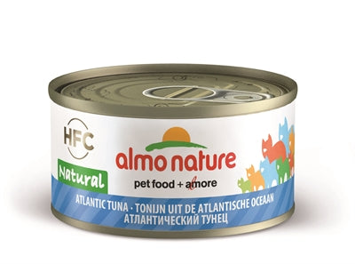 Almo Nature Cat Atlantic Tonijn 70 GR (24 stuks) - Stuff4Pets || Dutchdales