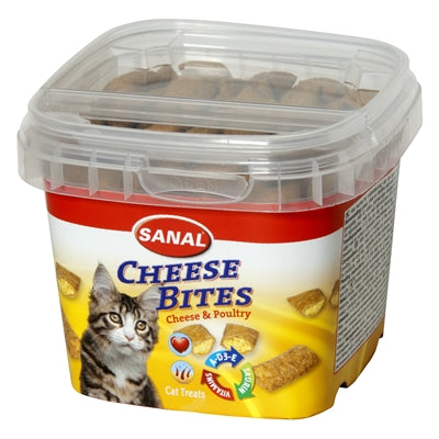 Sanal Cat Cheese Bites Cup 75 GR - Stuff4Pets || Dutchdales