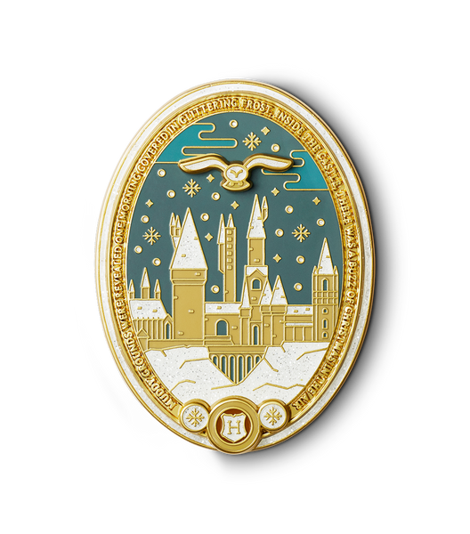 Christmas At Hogwarts Enamel Pin